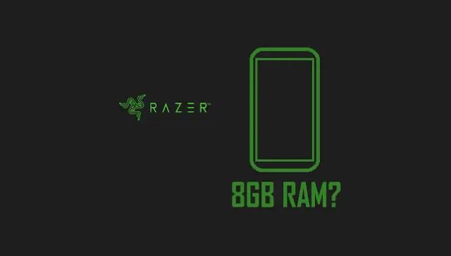 Razer's first smartphone will pack a 8 GB RAM