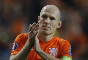 Captain Arjen Robben, Netherlands