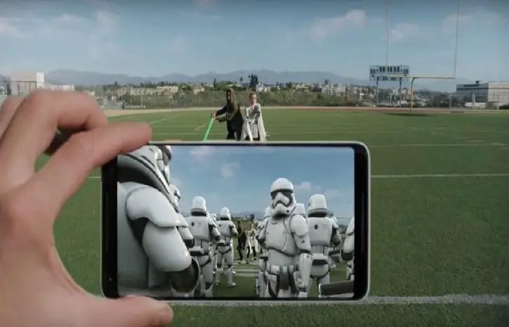 Augmented Star Wars