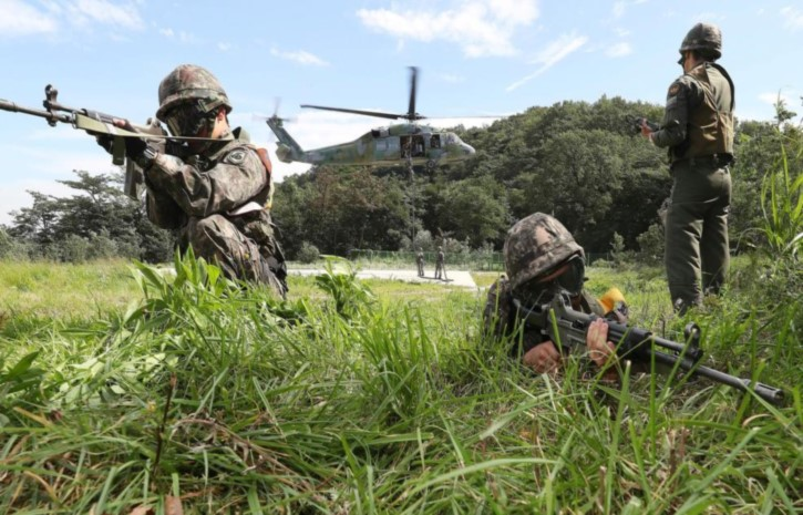 Pentagon House Training Exercises with South Korea