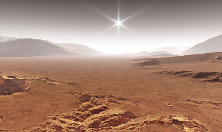 Ghost Dunes detected on Mars