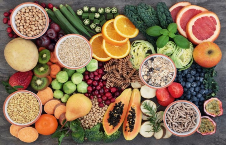 Diet of Vegetables, Fruits, and Whole Grains Lowers