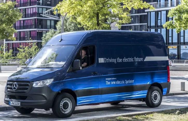 Electric Sprinter Vans