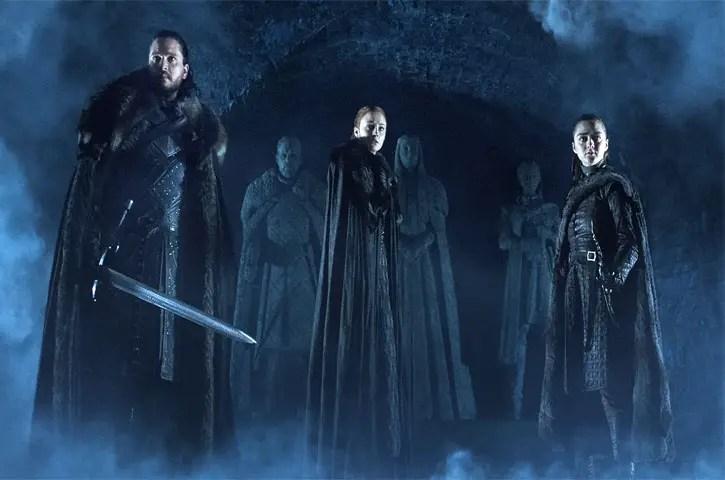 Game of thrones season 8 episode 1 character list