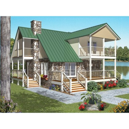 Cabin House Plans Cabin House Plan