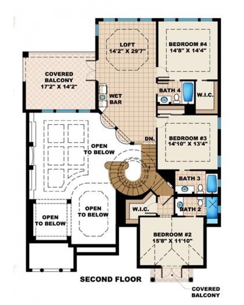 House Plan F2 4302 Morocco II Luxury