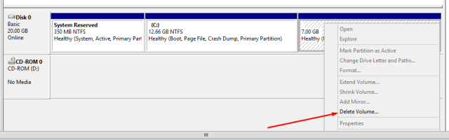 Increase Disk Space in C Drive