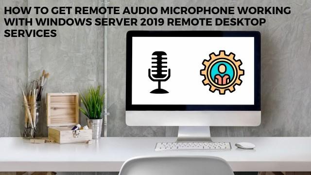 Microphone Working on windows