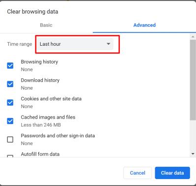 Cache In Google Chrome