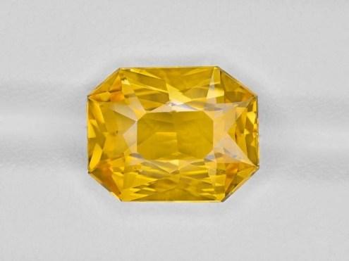 Yellow sapphire vivid yellow