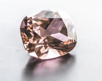 Peach colored gemstones