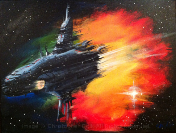 Spaceship Nebula. Image Copyright © Christopher Doll. All Rights Reserved.