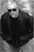 Dan Simmons rocks prepper shades.