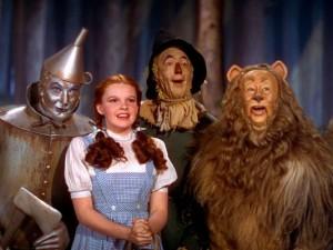 Dorothy and her sidekicks