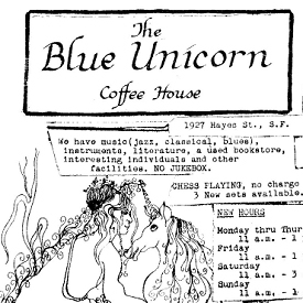 Figure 1 - Blue Unicorn flier excerpt circa 1967