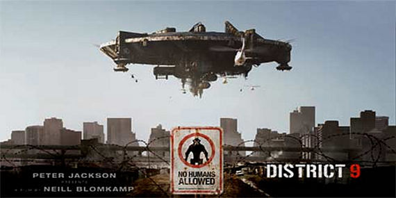 Figure 2 - District 9 poster