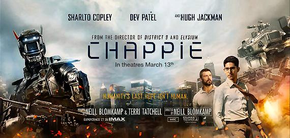 Figure 4 - Chappie poster