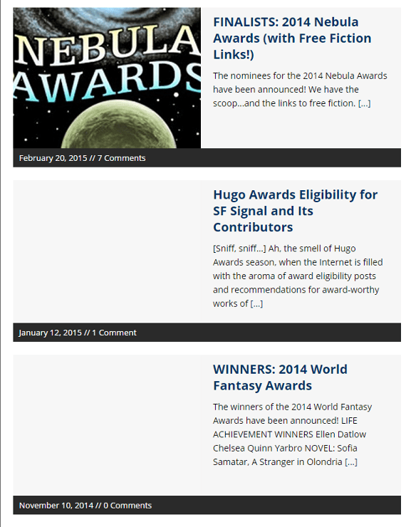 You've Never Heard of the Hugo Awards Before? Oh My