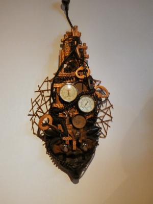 Figure 7 - Steampunk Mask by Carolyn Bruce