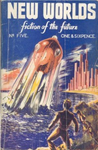 New World no 5, August 1949, cover art by Bob Clothier