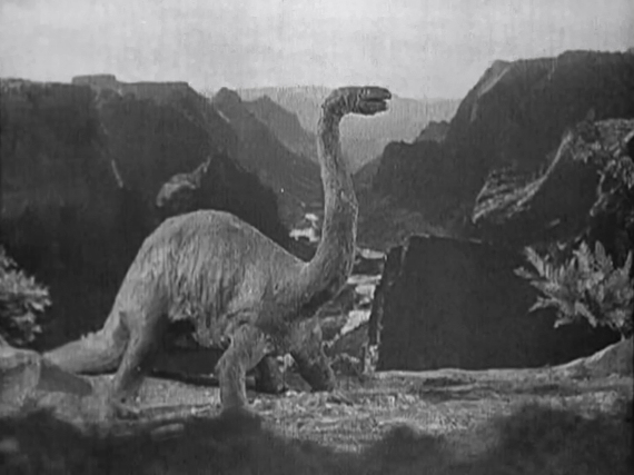 Figure 2 - 1925 The Lost World Brontosaurus