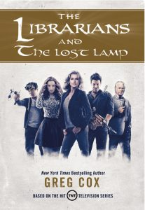 The Librarians and The Lost Lamp cover
