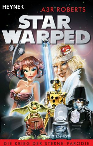 The German cover of Star Warped, by 'A3R Roberts'