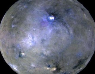 Ceres might have tilted over onto its side