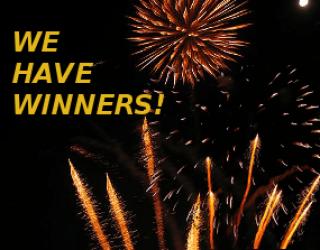 AMAZING SF TRIVIA CONTEST WINNERS!