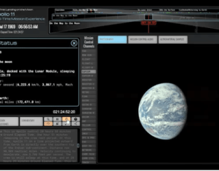 Relive the Apollo 11 Moon Landing Mission in Real Time! | Space
