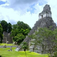 Tikal - Maya - Pyramids and Temple Ruins in the Jungle of Guatemala