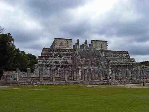 Der Kriegertempel in Chichén Itzá