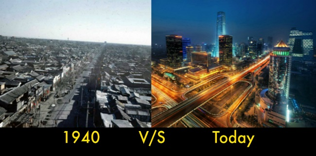 7 Unbelievable Transformations Of Major Cities From 1960s To Present Times
