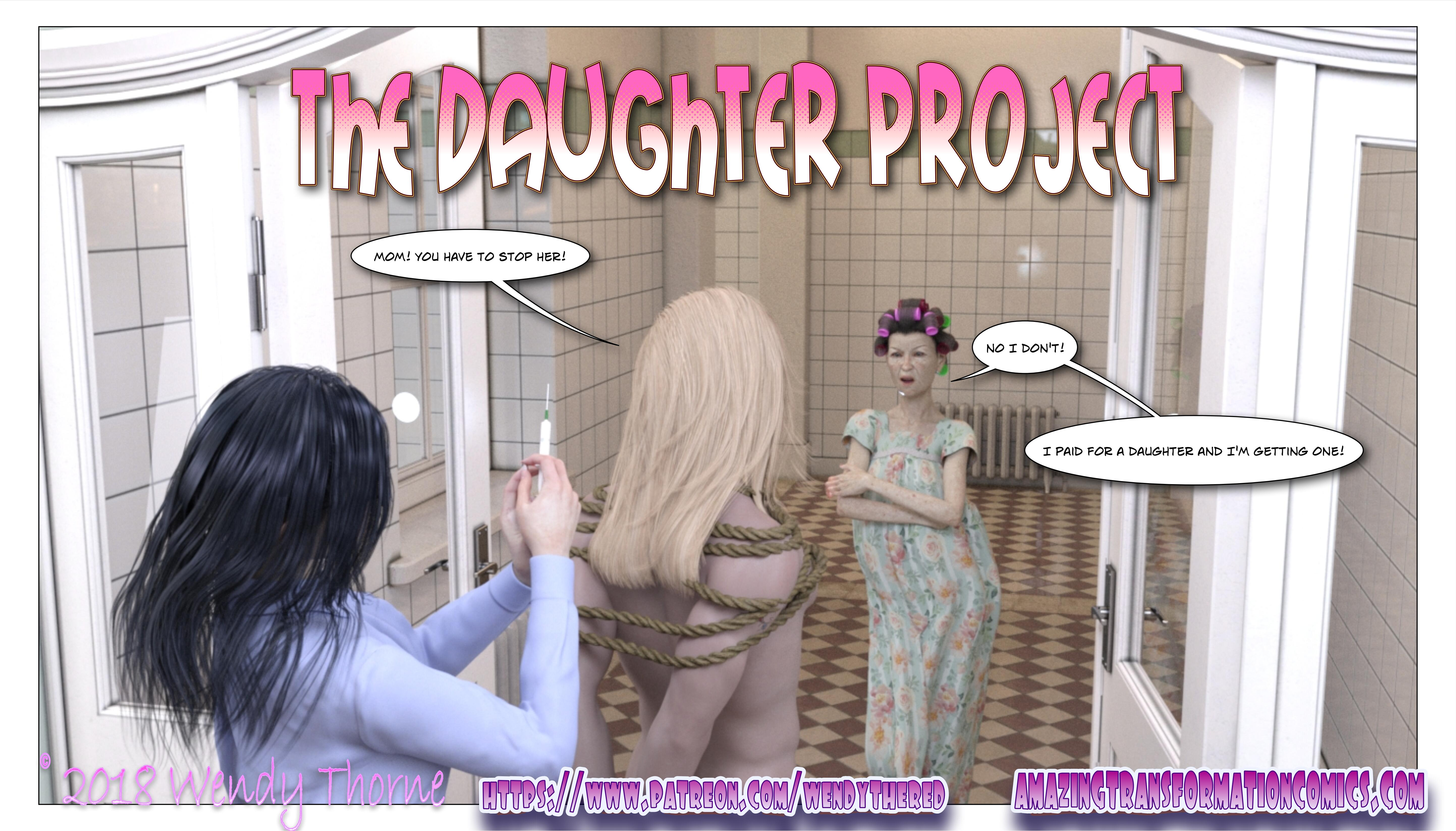 The Daughter Project Cover