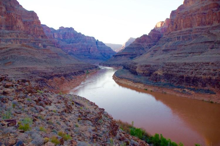 Spektakulære Grand Canyon - ét af verdens 7 naturlige vidundere.
