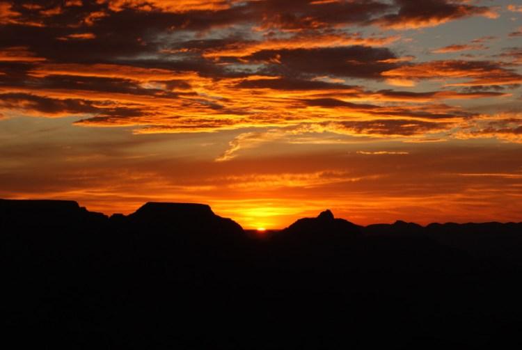 Solopgang, Grand Canyon South Rim