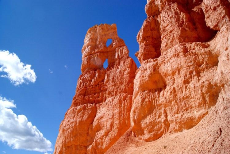 Røde klippesøjler i Bryce Canyon National Park