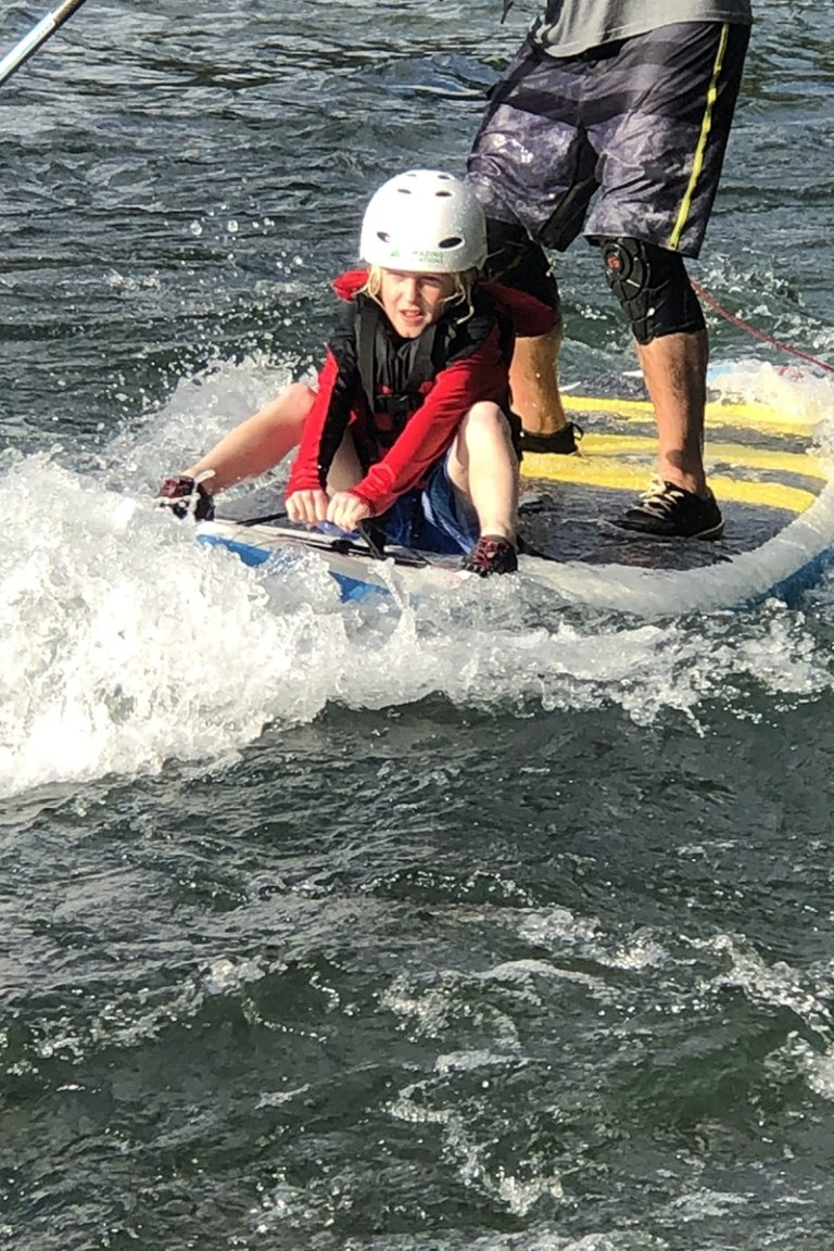 Riding On Sup