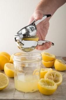 Lemon Press Squeezing A Lemon