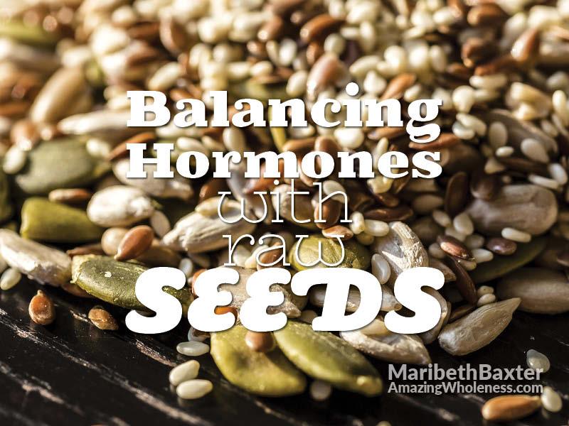 balancing hormones with seeds
