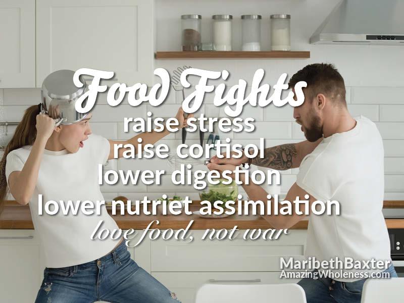 Food Fights, Love Food Not War