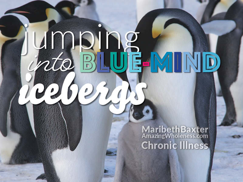 jumping into blue-mind icebergs