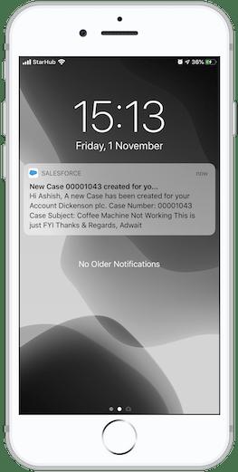 Salesforce Custom Notifications