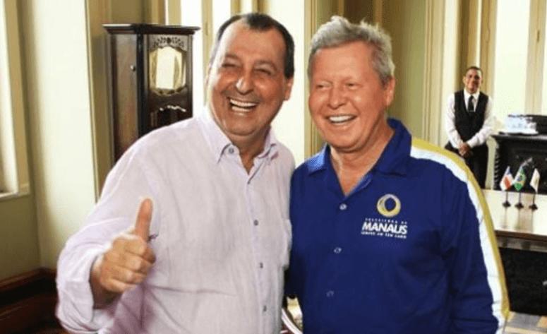 Eleições 2018: Arthur Neto declara apoio a Omar Aziz ao governo do AM