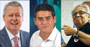 De forma silenciosa, Arthur e Amazonino vão apoiar David Almeida para prefeito de Manaus