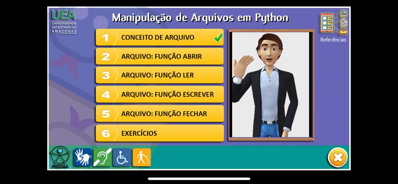 Professora da UEA desenvolve aplicativo para aprendizagem acessível
