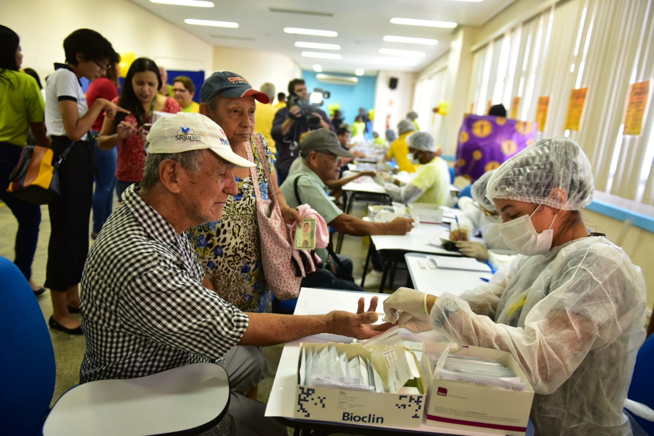 Alfredo da Matta realiza exames e vacinação durante campanha contra Hepatites Virais