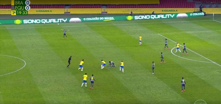 Brasil vence Equador por 2 a 0 pelas Eliminatórias Sul-Americanas