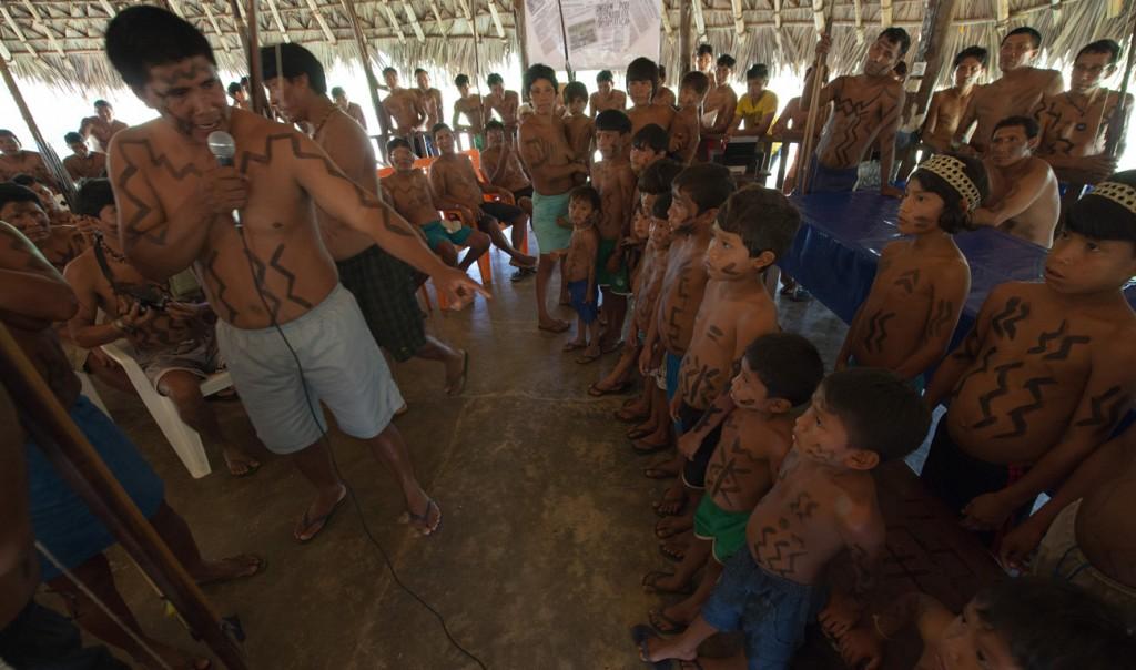 A nova geração dos Waimiri Atroari (Foto: Mário Vilela/Funai)