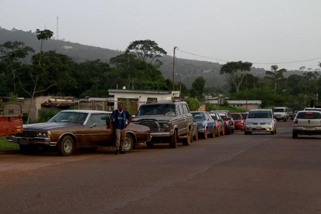 Em Santa Elena do Uairén, na Venezuela, fronteira com o Brasil (Foto: Alberto Cesar Araujo/Amazônia Real)